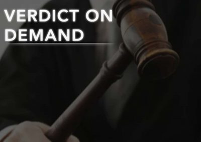 Verdict on Demand